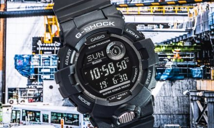 [Live Photos] G-Shock GBD-800-1B from G-Squad Series