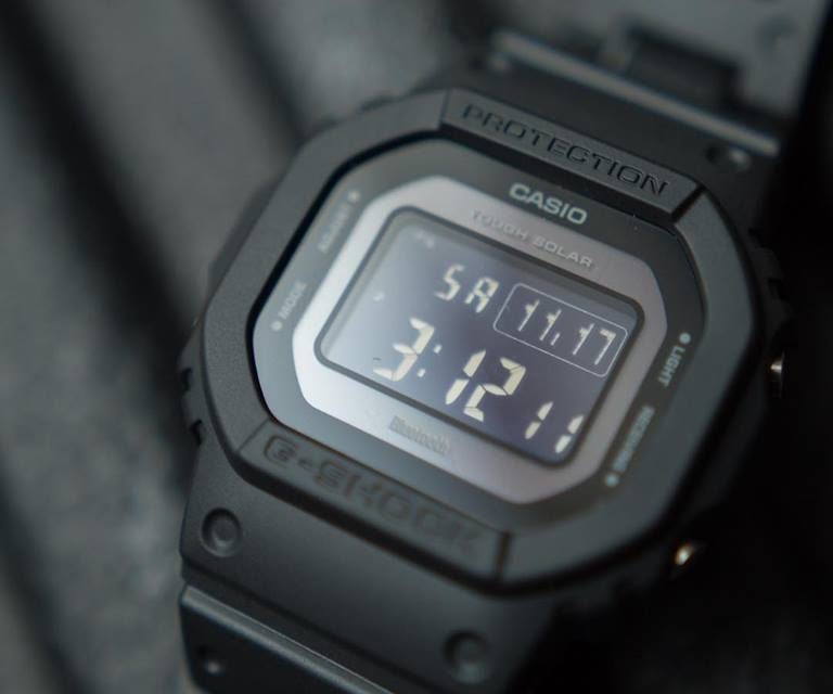 [Live Photos] G-Shock GW-B5600BC-1B with Composite Band