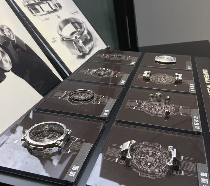 [Live Photos] G-Shock MTG-B1000 and Internal parts on the Exhibition