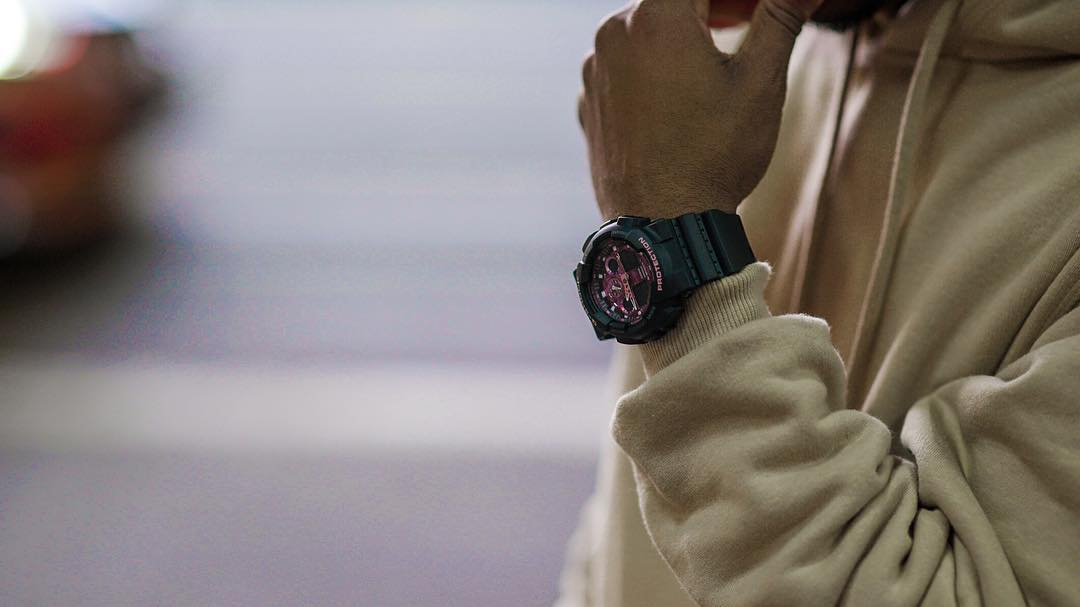 [Live Photos] G-Shock GA-100TCB-1A and G-Movement with Mr YouTube