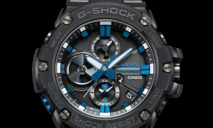 [Official] G-Shock GST-B100BNR-1A x Blue Note Records Collaboration