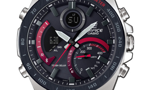 [Live Photos] Edifice ECB-900 Connected Watch in cockpit design