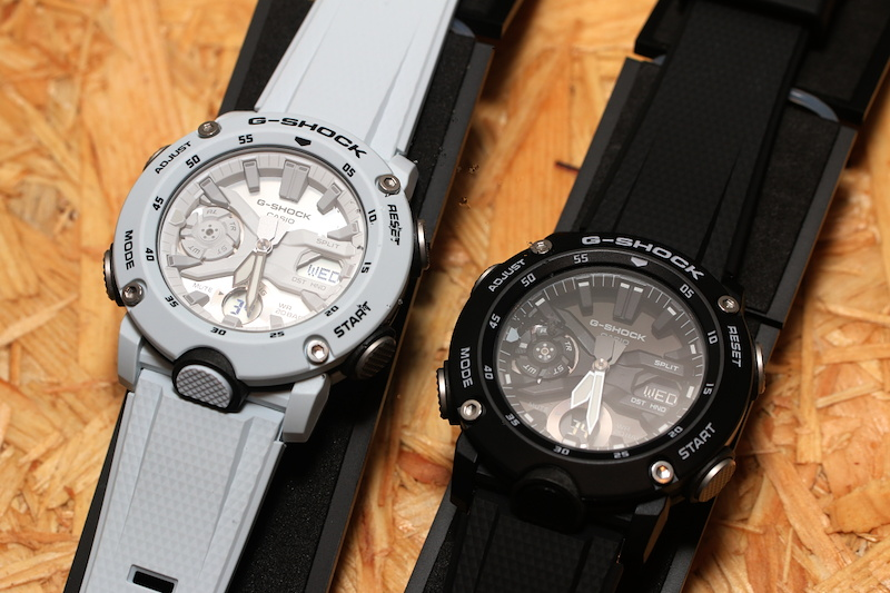 [Live Photos] G-Shock GA-2000 and Resin, Velcro and Cordura Fabric bands