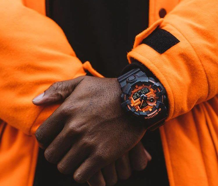 [Live Photos] G-Shock GA-700BR-1A from Bright Orange collection