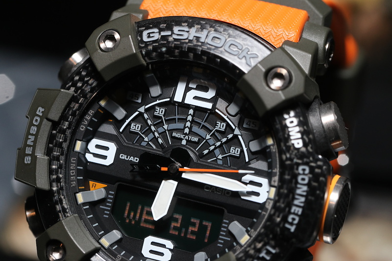 [Live Photos] G-Shock GG-B100 and carbon core guard structure