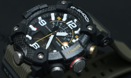 [Live Photos] G-Shock Mudmaster GG-B100 with Carbon Core Guard