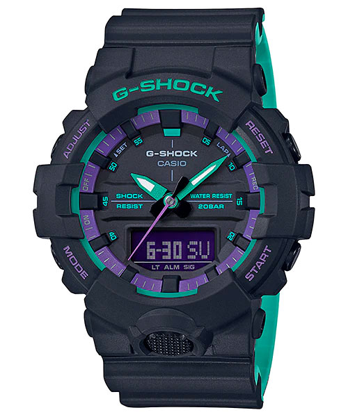 [April 2019] G-Shock GA-100BL-1A, GA-800BL-1A, GAS-100BL-1A and GW-B5600BL-1