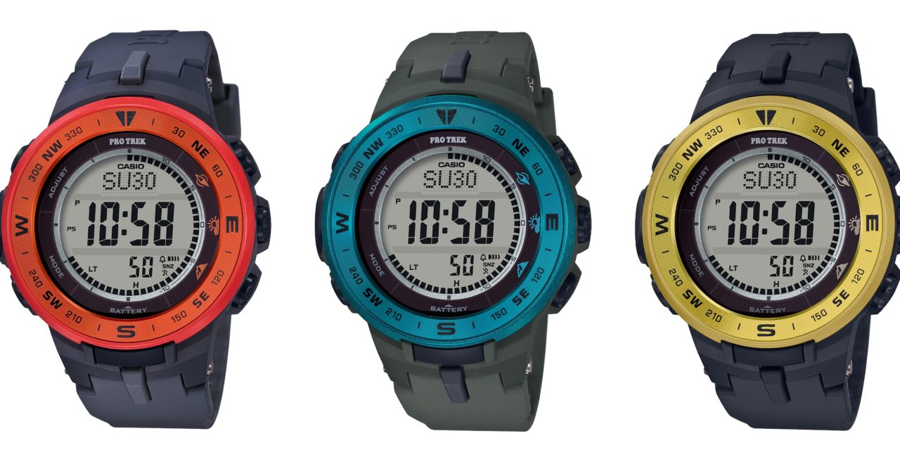 [Official] Casio Adds A Pop Of Color To ProTrek PRG-330 Series