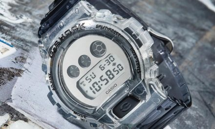 [Live Photos] G-Shock DW-6900SK-1 CLEAR SKELETON Series