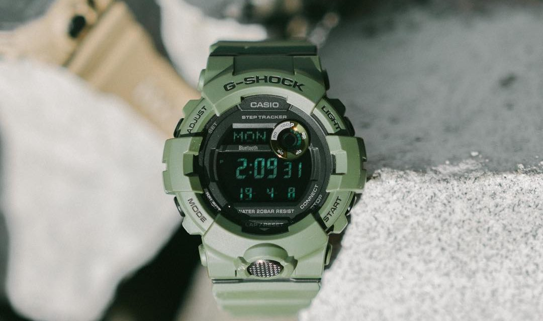 [Live Photos] G-Shock GBD-800UC — Utility Color Series