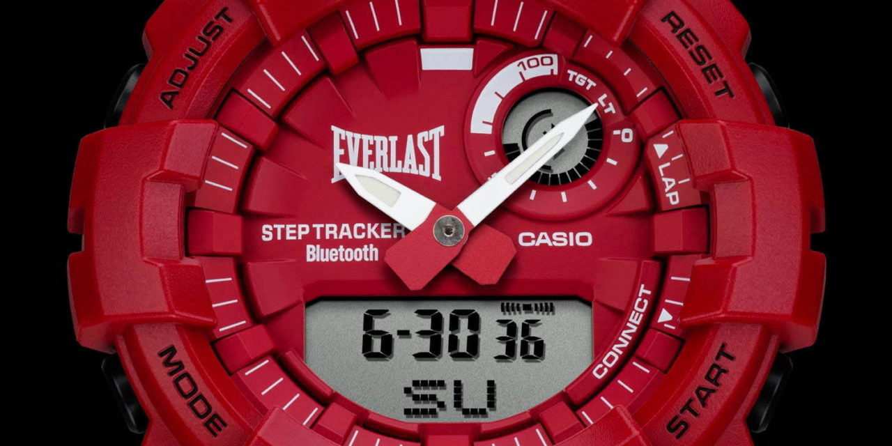 [Live Photos] G-Shock GBA-800EL-4A x Everlast Collaboration