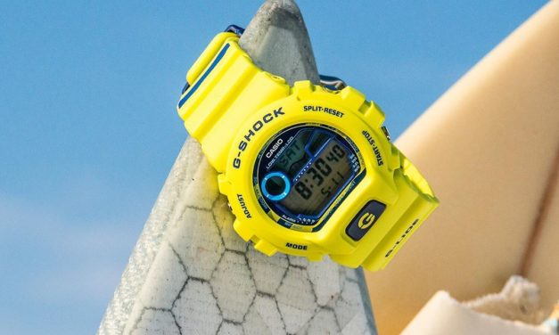 [Live Photos] G-Shock GLX-6900SS-9 with striped pattern