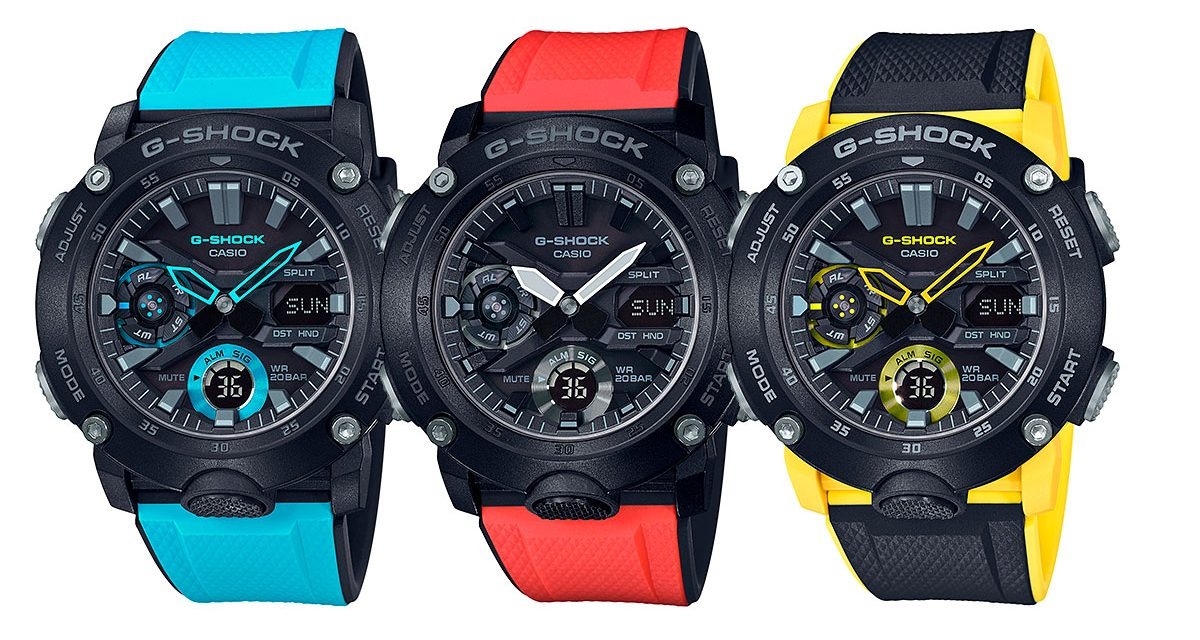 G-Shock 2019 — New arrivals only — Monthly update
