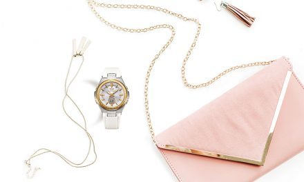 [Live Photos] Baby-G MSG-W225-7A with Swarovsky Crystals