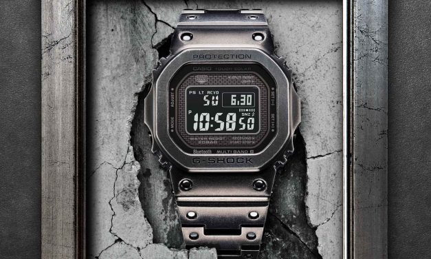 [Official] Casio to Release Full Metal G-Shock GMW-B5000V with Aged Look