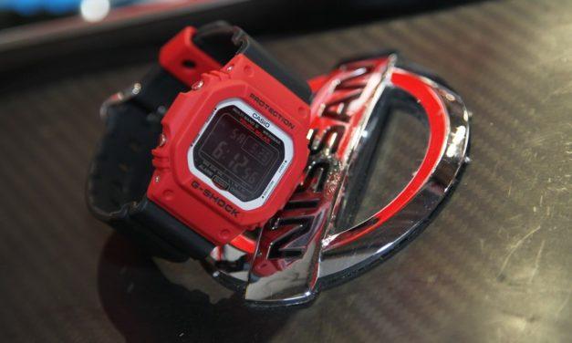 [Live Photos] G-Shock GW-M5610RB-4 and MOTUL AUTECH GT-R