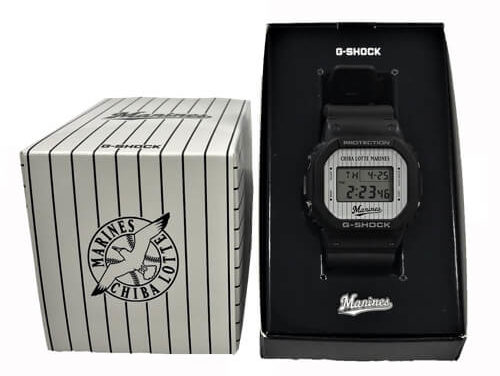 [Live Photos] G-Shock x Chiba Lotte Marines x Chiba Lotte Marines Collaboration