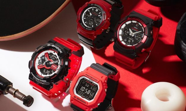 [Live Photos] G-Shock Black and red Special Color Series 2019