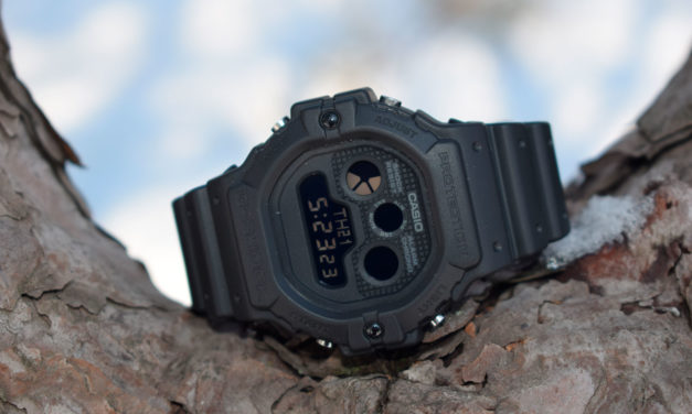 "[G-Shock Review] DW-5900BB-1ER — Stealth, Old-School and ""Three-Eyed"" Numeral"