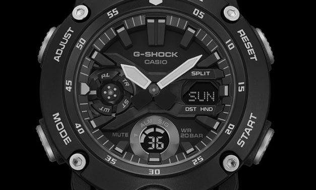 [Live Photos] G-Shock GA-2000S In Monotone Black and White Colors