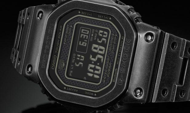 [Live Photos] G-Shock GMW-B5000V and Retro Ion Plating