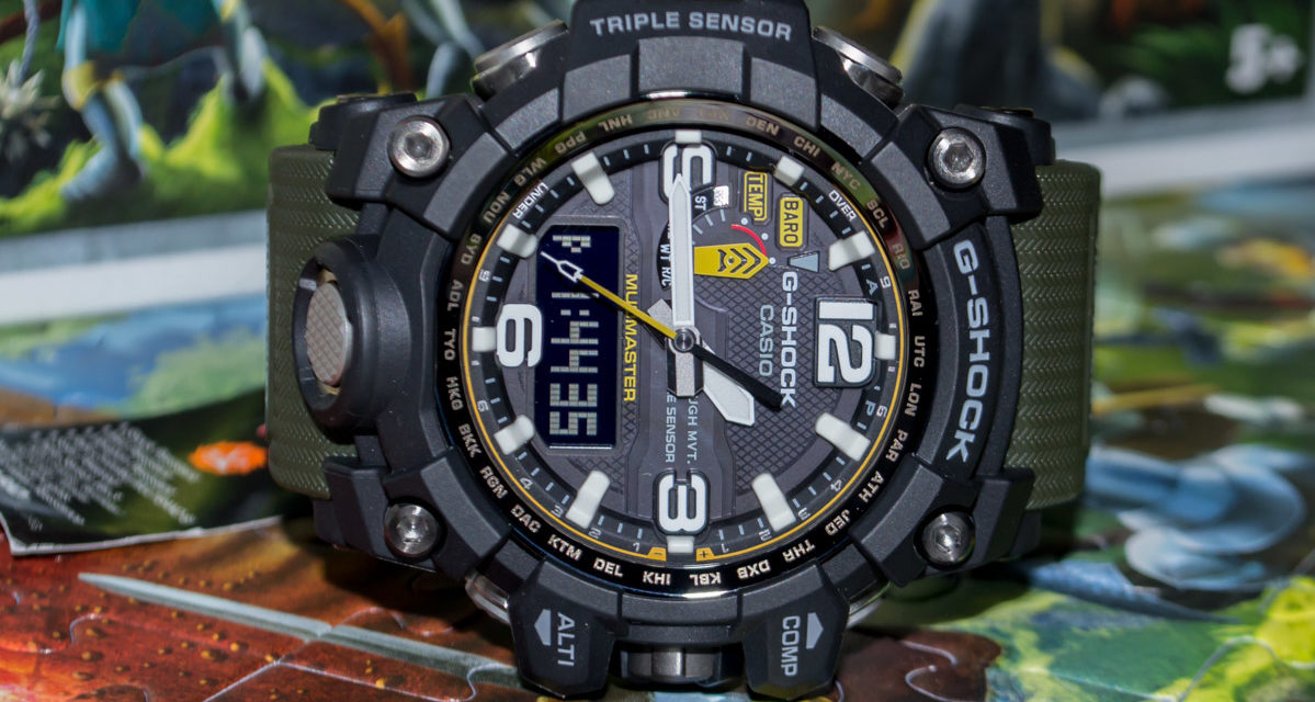 Casio G-Shock GWG-1000 Review — Size and Functions are at