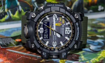 [G-Shock Review] GWG-1000-1A3ER – Size and Functions are at the Same Level