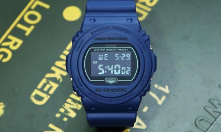 [Live Photos] G-Shock DW-5600BBM-1 and DW-5700BBM-2 Special Color Series