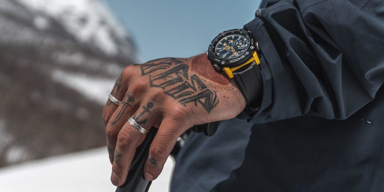[Live Photos] G-Shock GA-2000-1A9 and Ambassador Jhenya Ivanov
