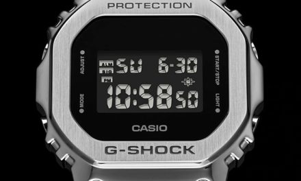 [Live Photos] G-Shock GM-5600 — The New Square Face Design