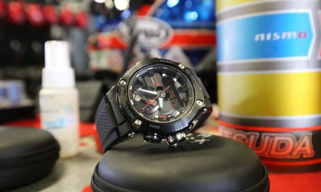 [Live Photos] G-Shock GST-B200 and MOTUL AUTECH GT-R