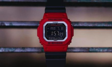 [Live Photos] G-Shock GW-M5610RB-4 in Red Accents