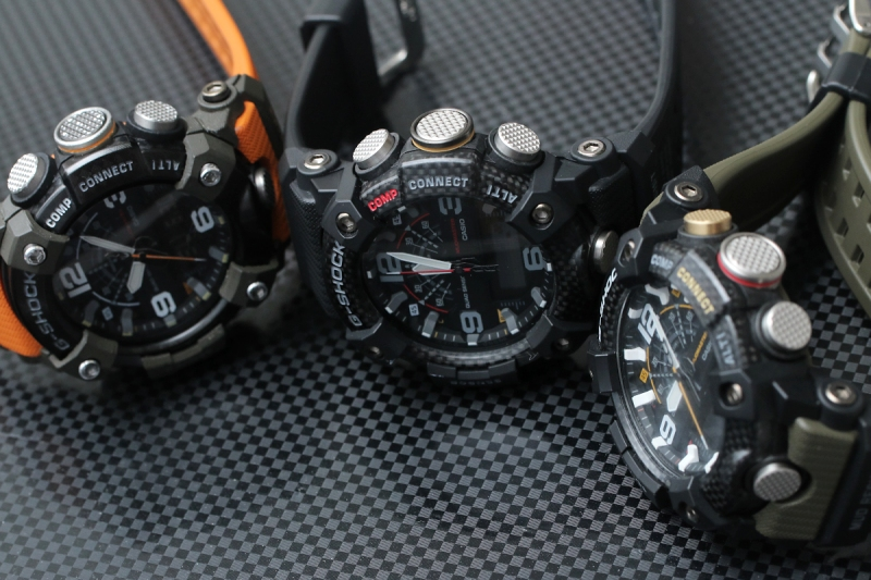 [Live Photos] Carbon core guard structure in G-Shock Mudmaster GG-B100