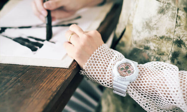 [Live Photos] Baby-G BA-130-7A1 and Ink artist CHiNPAN