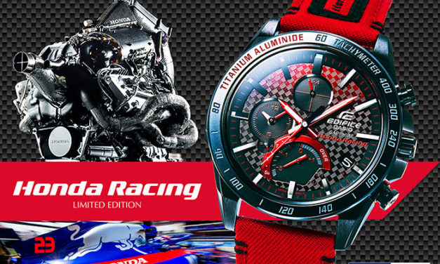 [Live Photos] Edifice EQB-1000HRS-1A Honda Racing Limited Edition
