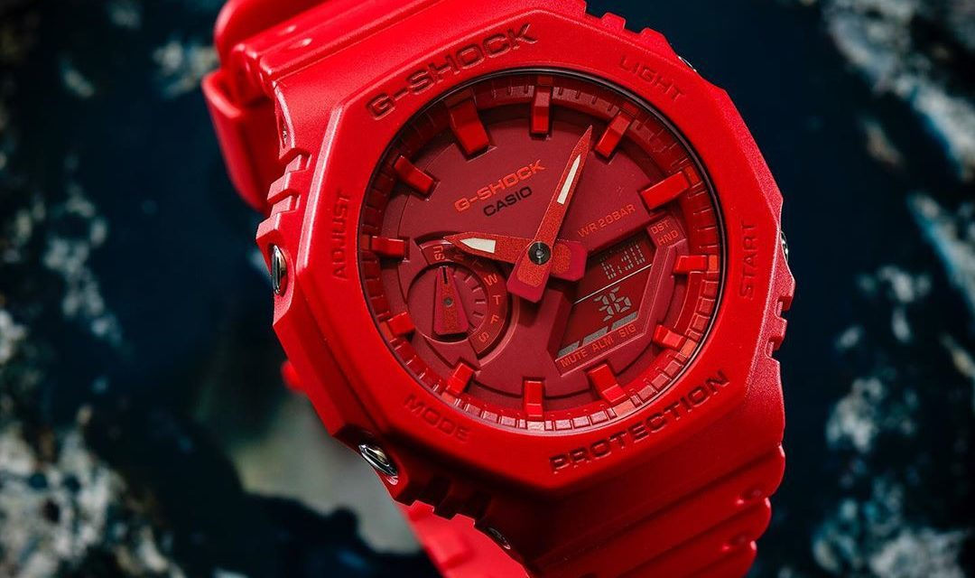 [Live Photos] G-Shock GA-2100-4A with the thinnest casing