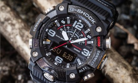[Live Photos] G-Shock GG-B100-1A with New Type of Structure with Carbon