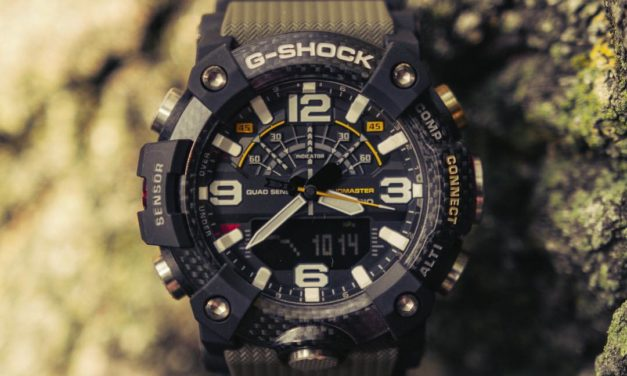 [Live Photos] G-Shock GG-B100 with shock-resistant carbon core guard structure