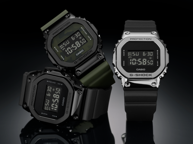 [Official] G-Shock GM-5600 — Iconic Timepiece With Stainless Steel Bezel