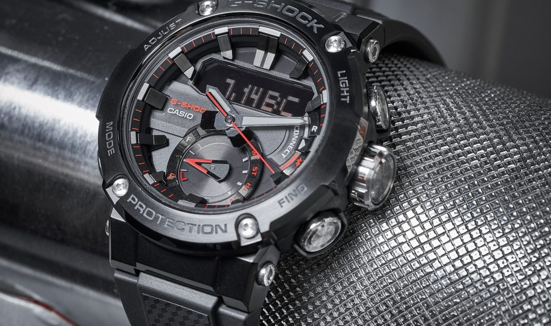 [Live Photos] G-Shock GST-B200 — More Powerful with Carbon Core Guard