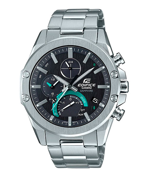 [August 2019] Edifice EQB-1000D-1A with Stainless steel Case and Band