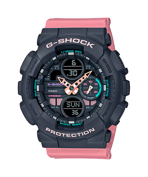 [August 2019] G-Shock black, blue, and red GMA-S140