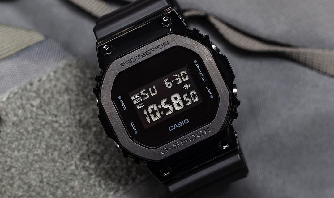 [Live Photos] G-Shock GM-5600 with square-faced case