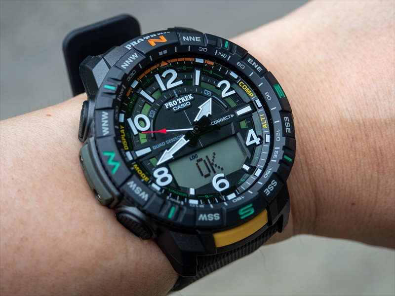 [Live Photos] ProTrek PRT-B50 and mountain walking motivation
