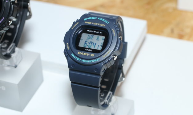 [Live Photos] Baby-G BGD-5700 with Tough Solar and Multiband