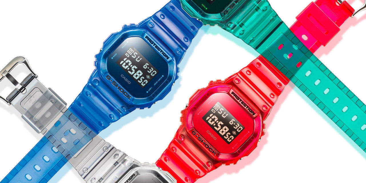 [Official] G-Shock Debuts Latest Skeleton Series In Three New Colorways For Fall 2019