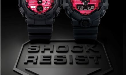 [Official] G-Shock Introduces All New Adrenalin Red Series Of Men's Timepieces