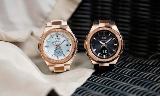 [Live Photos] Baby-G MSG-S200G to UPSCALE G-MS COLLECTION