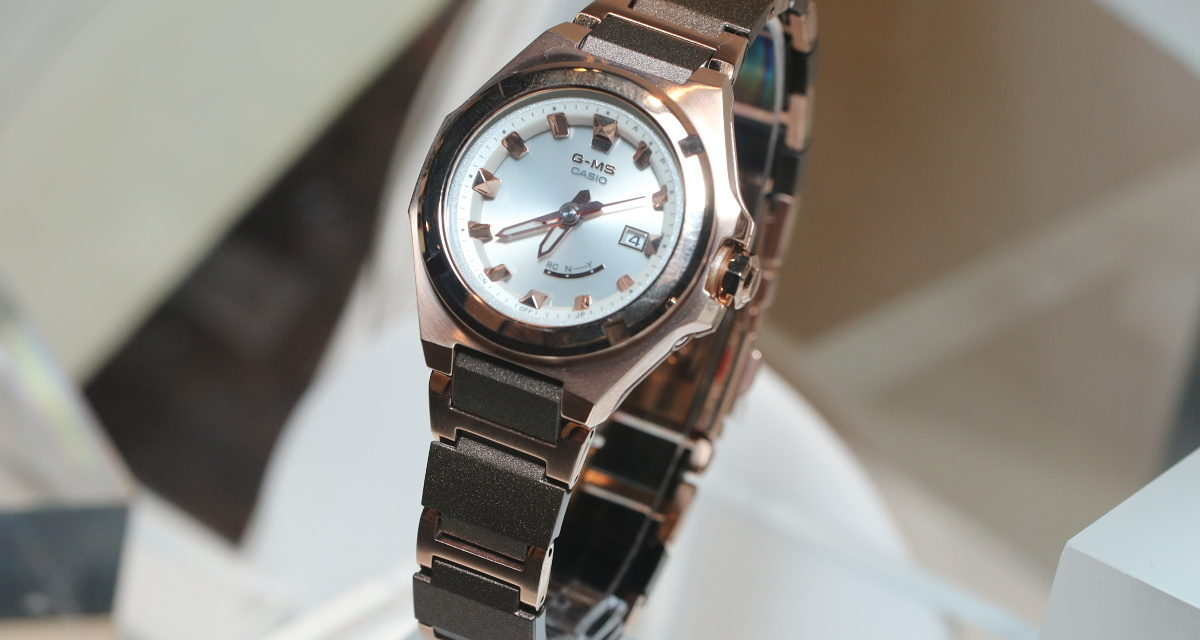 [Live Photos] Baby-G MSG-W300 — New Compact G-MS Concept