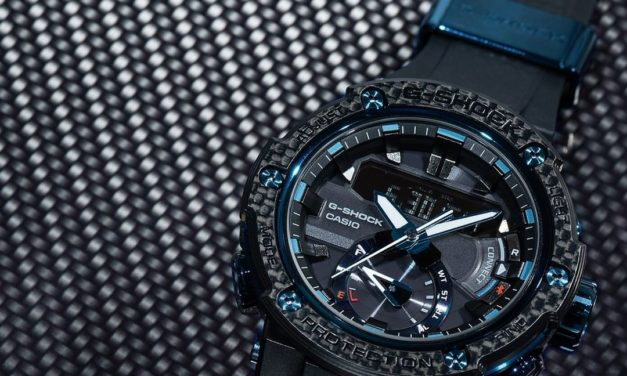 [Live Photos] G-Shock GST-B200X-1A — Carbon and Sapphire
